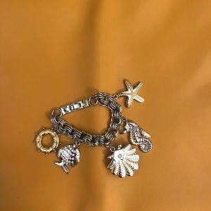 Betsey Johnson sea ocean watch bracelet